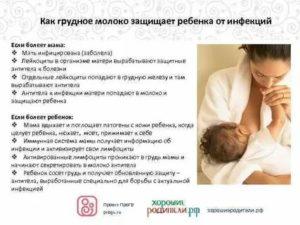 Простуда при грудном вскармливании | уроки для мам