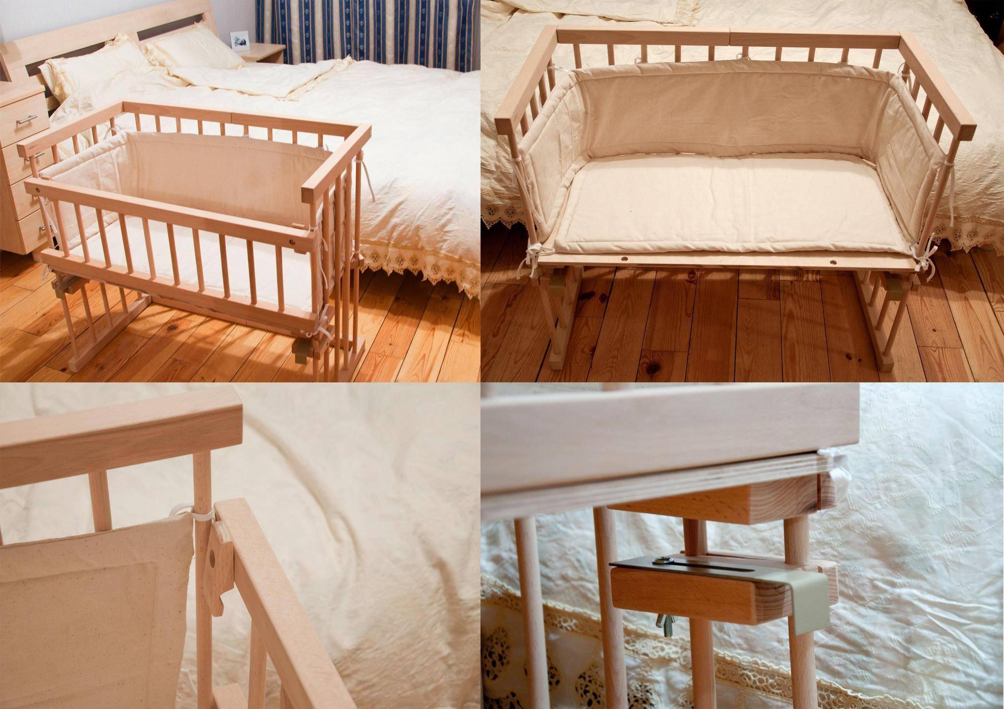 Детская кроватка своими руками: от колыбели для новорожденного к классике и трансформеру