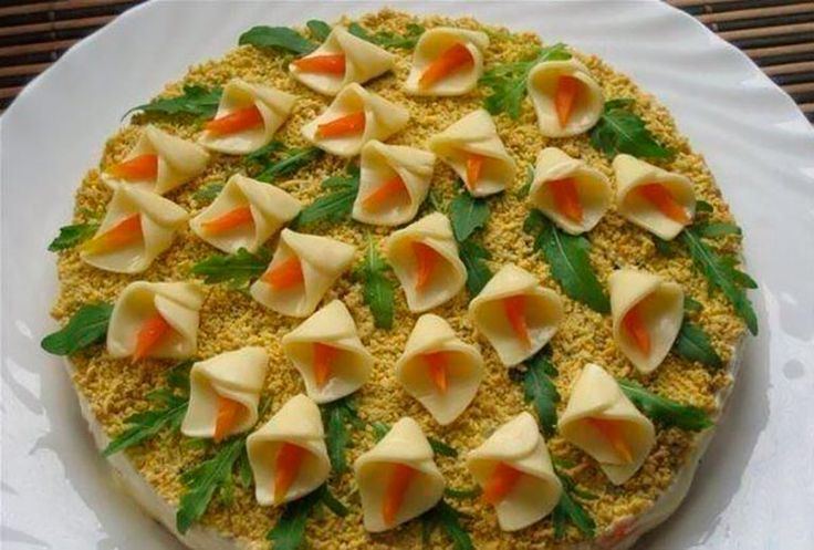 8 простых и вкусных салатов из овощей для детей от 1 года