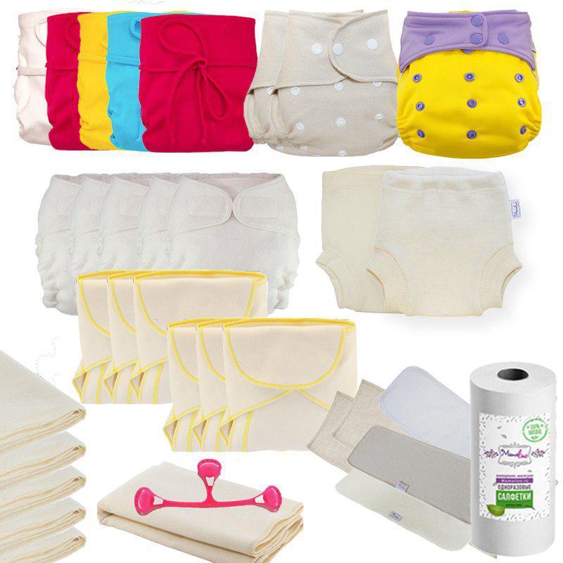 Марлевые подгузники для новорожденного | уроки для мам