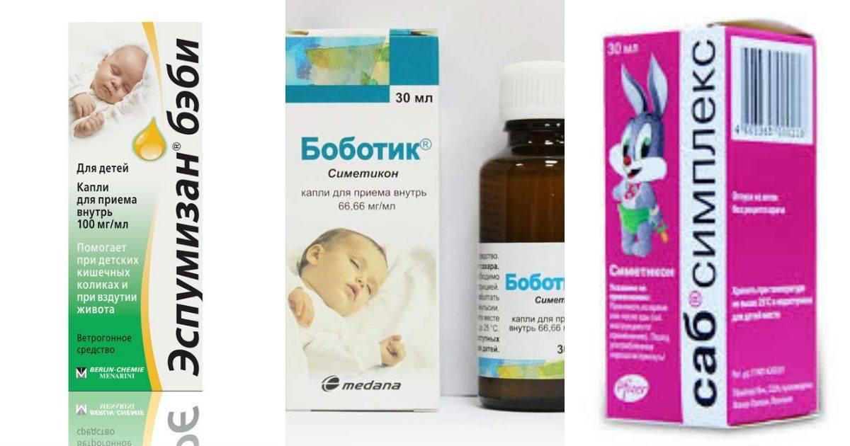 Список лекарств от коликов