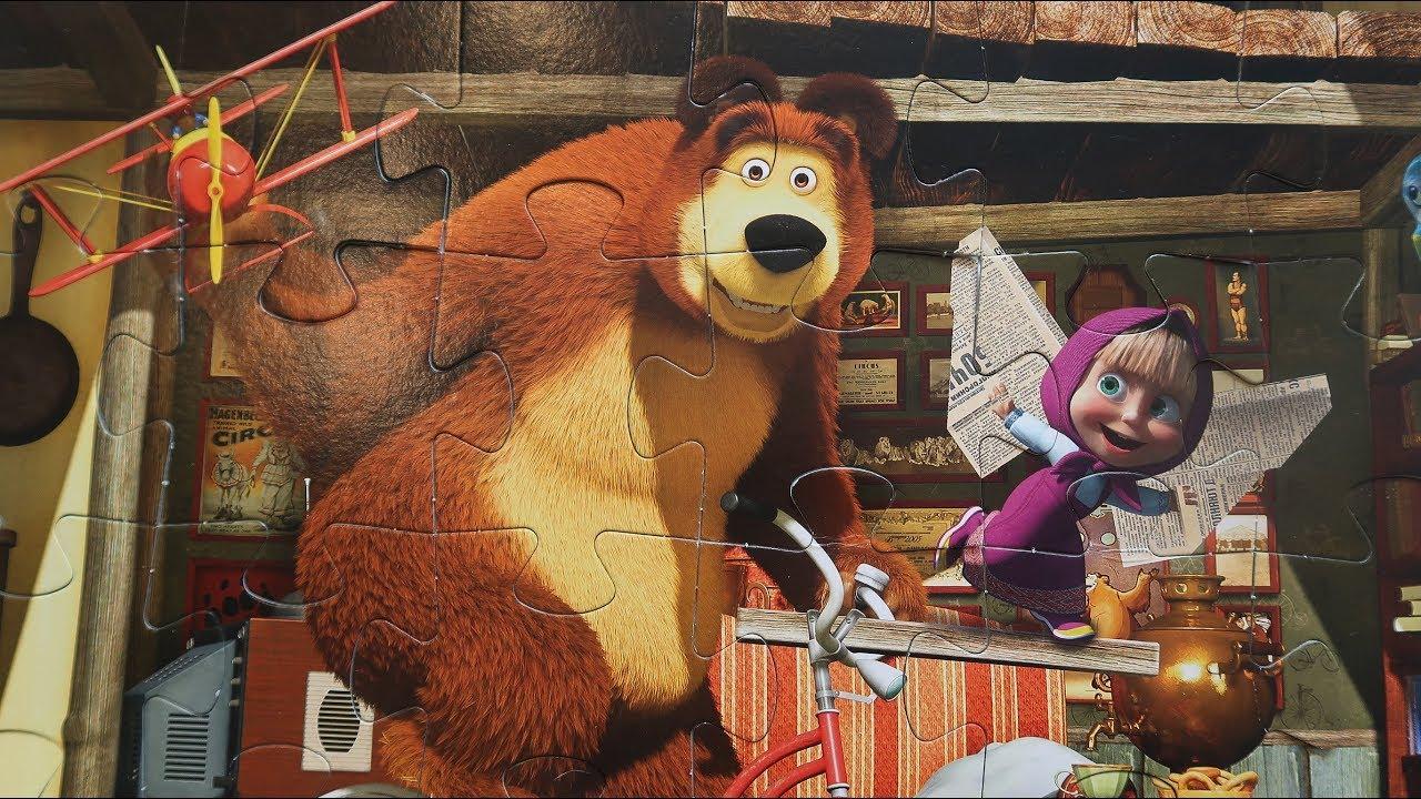 Вред мультика маша и медведь: правда или миф