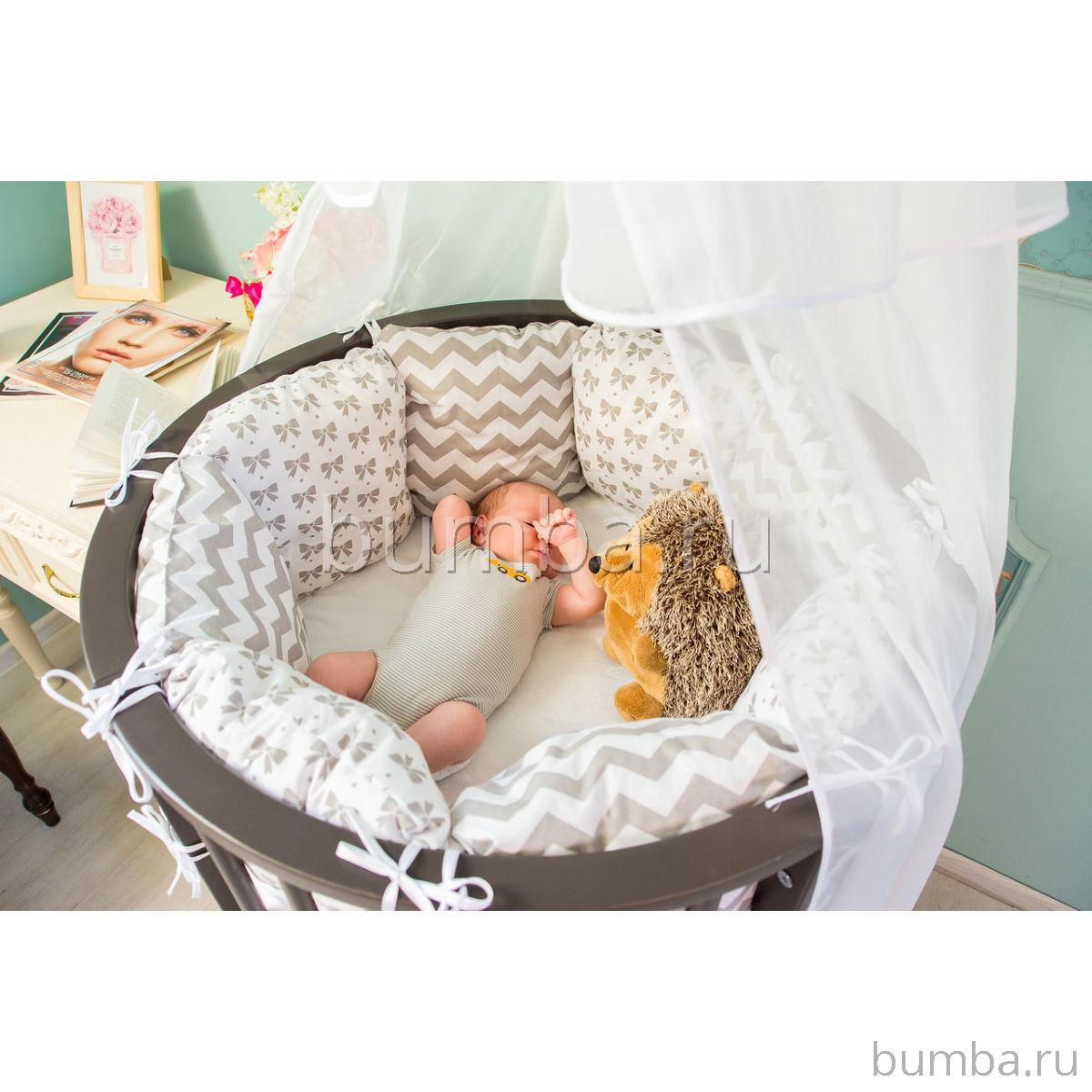 Критерии безопасности кроватки для новорожденного