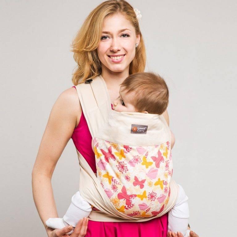 Слинг-шарф: как правильно носить в нём ребёнка