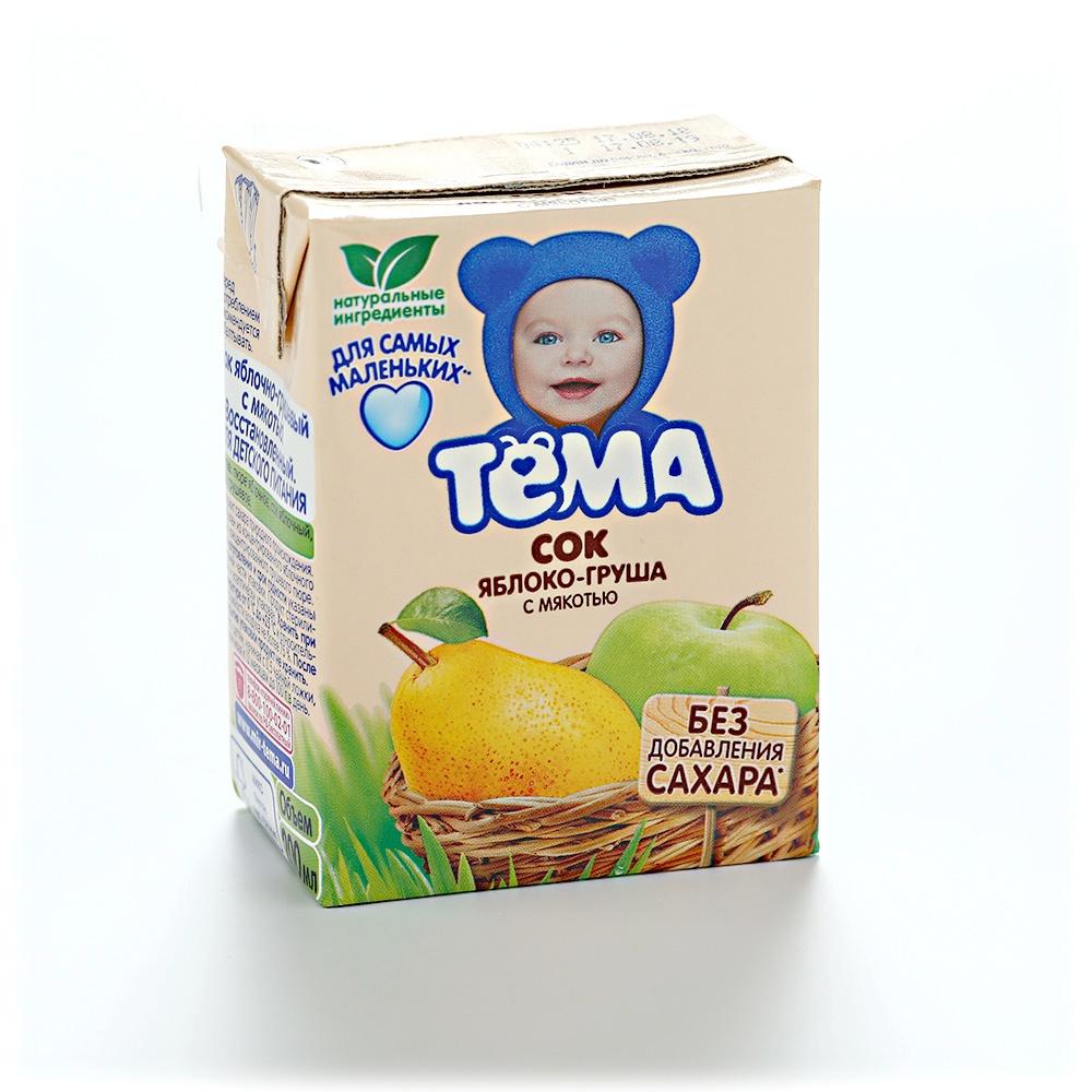 Пюре из груш на зиму для ребенка