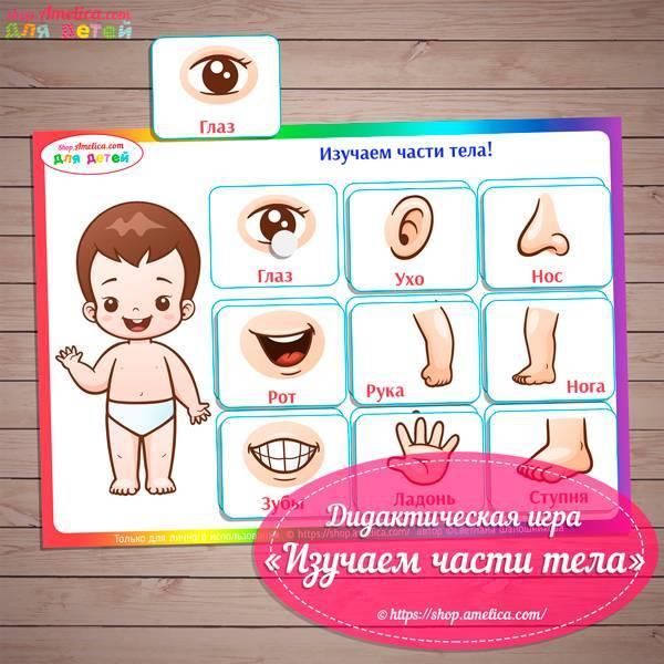 25 дидактических игр для детей 2 - 7 лет с целями