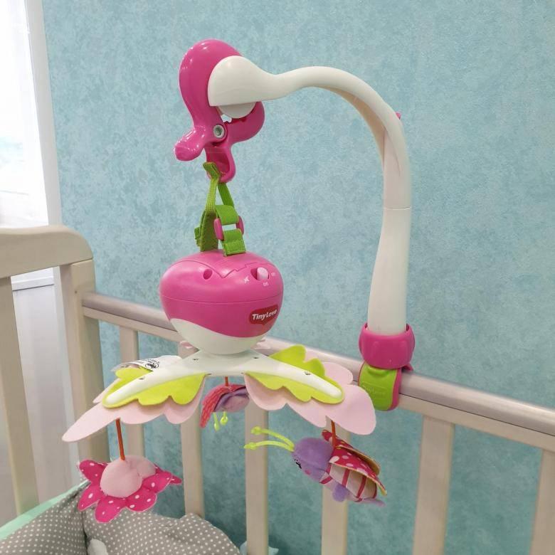 """Музыкальный мобиль на кроватку tiny love """"моя принцесса"""" - обзор, отзывы, видео - иркутская городская детская поликлиника №5"""