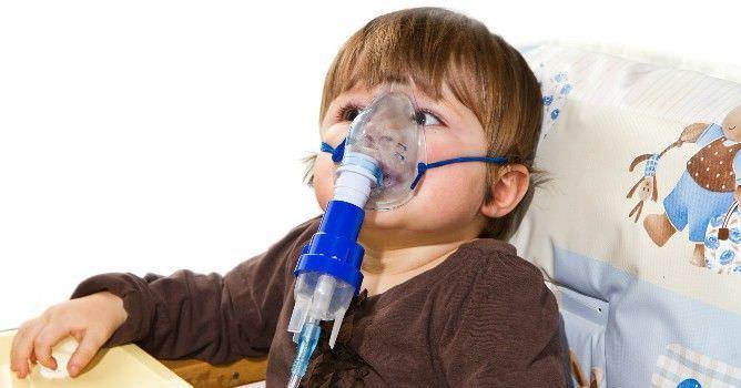 Ингаляции при лающем кашле у детей - польза процедуры