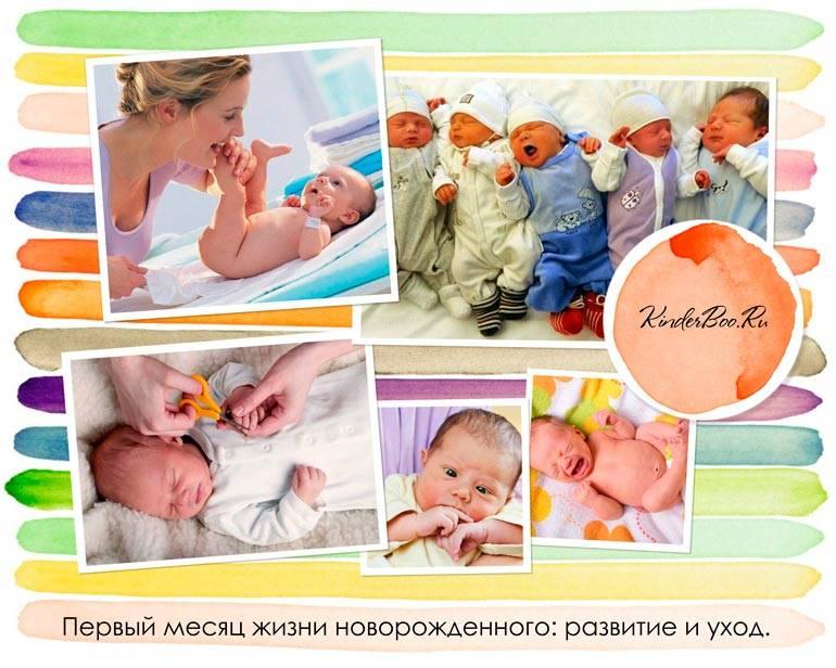Развитие новорожденного ребенка по месяцам: как развивается младенец до года - в 1, 2, 5, 6 и 7 месяцы