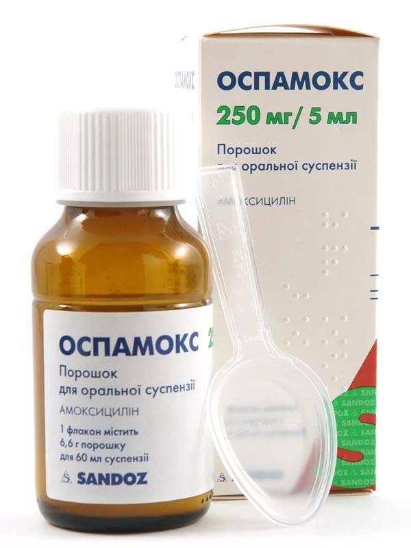 Оспамокс – инструкция по применению, показания, дозы