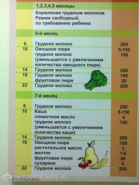 Рацион питания ребенка в 1 год: меню на неделю, чем кормить детей в 12 месяцев / mama66.ru