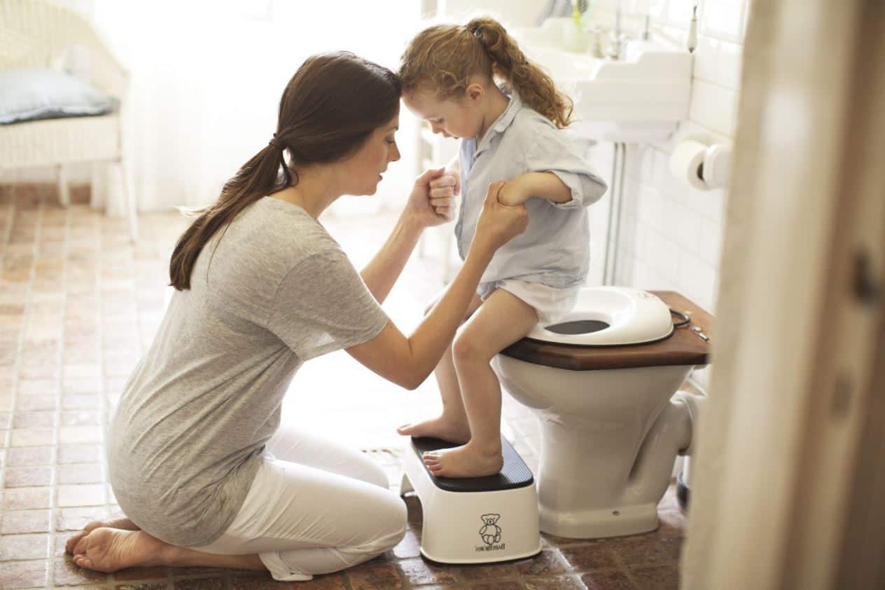 Ребенок не может сходить по большому, что делать?