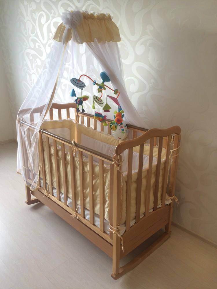 Краска для детской кроватки: выбор и нанесение
