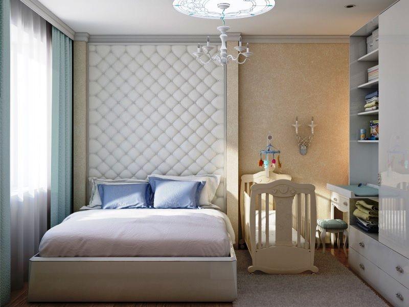 Дизайн спальни с детской кроваткой +50 фото идей обустройства комнаты