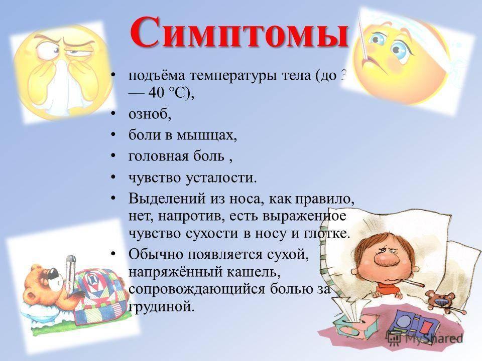 Температура без симптомов