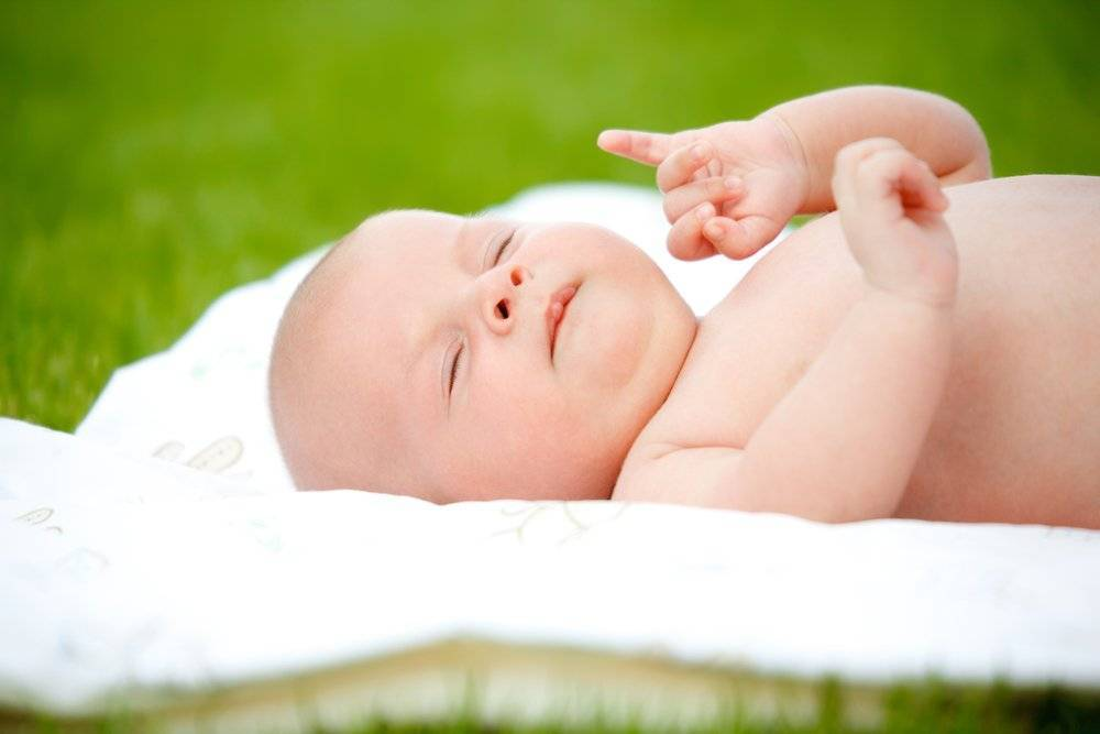 Воздушные ванны для новорожденного как делать