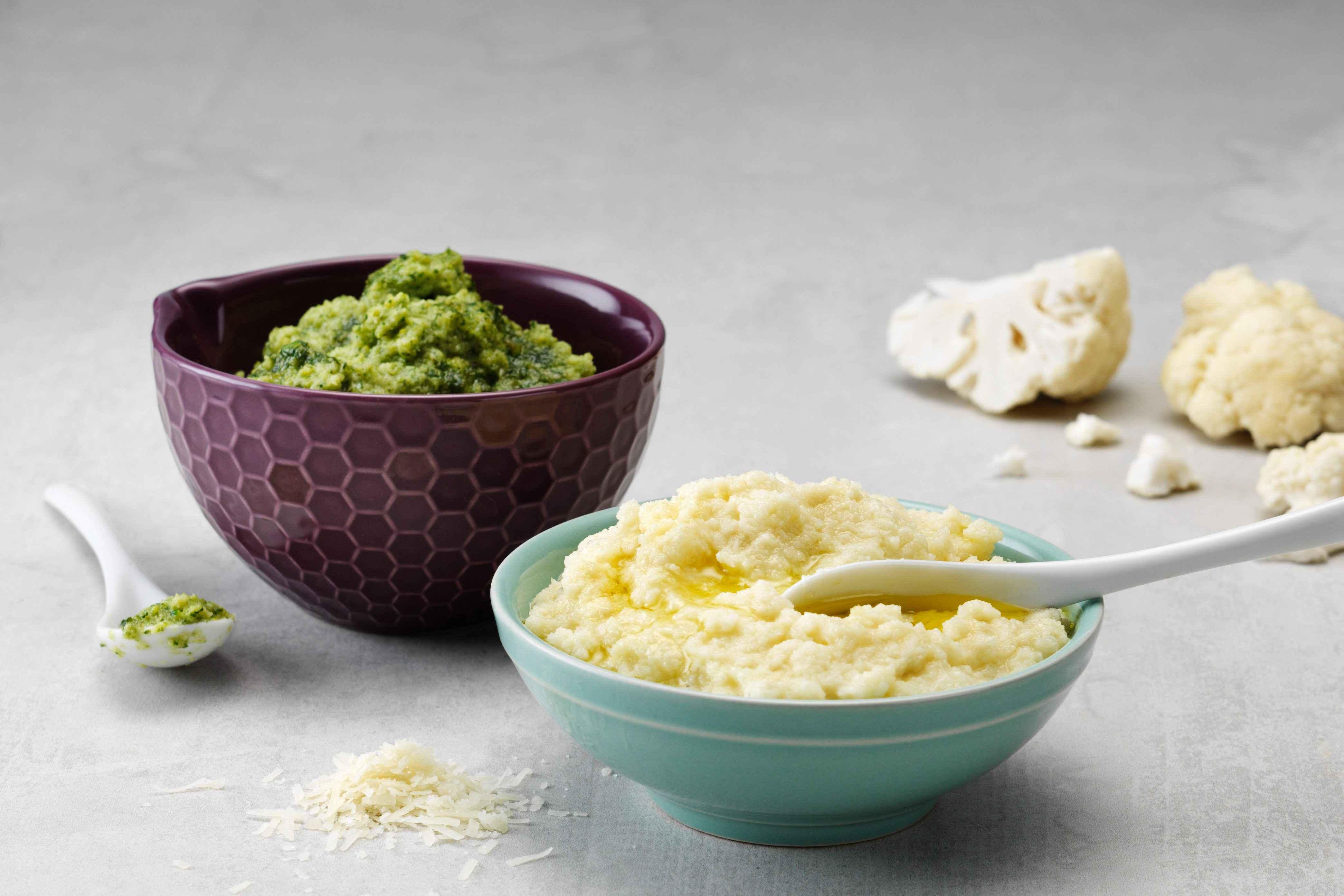 Первый прикорм: лучшие рецепты овощных пюре