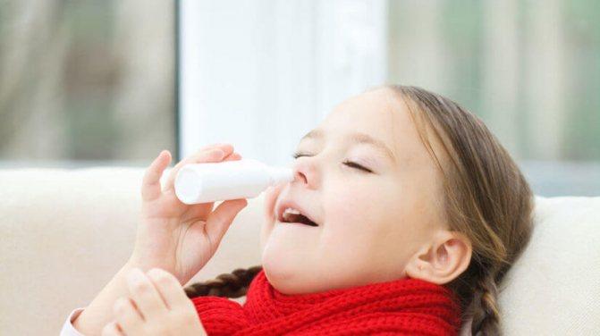 Капли от насморка для детей до года: обзор самых эффективных