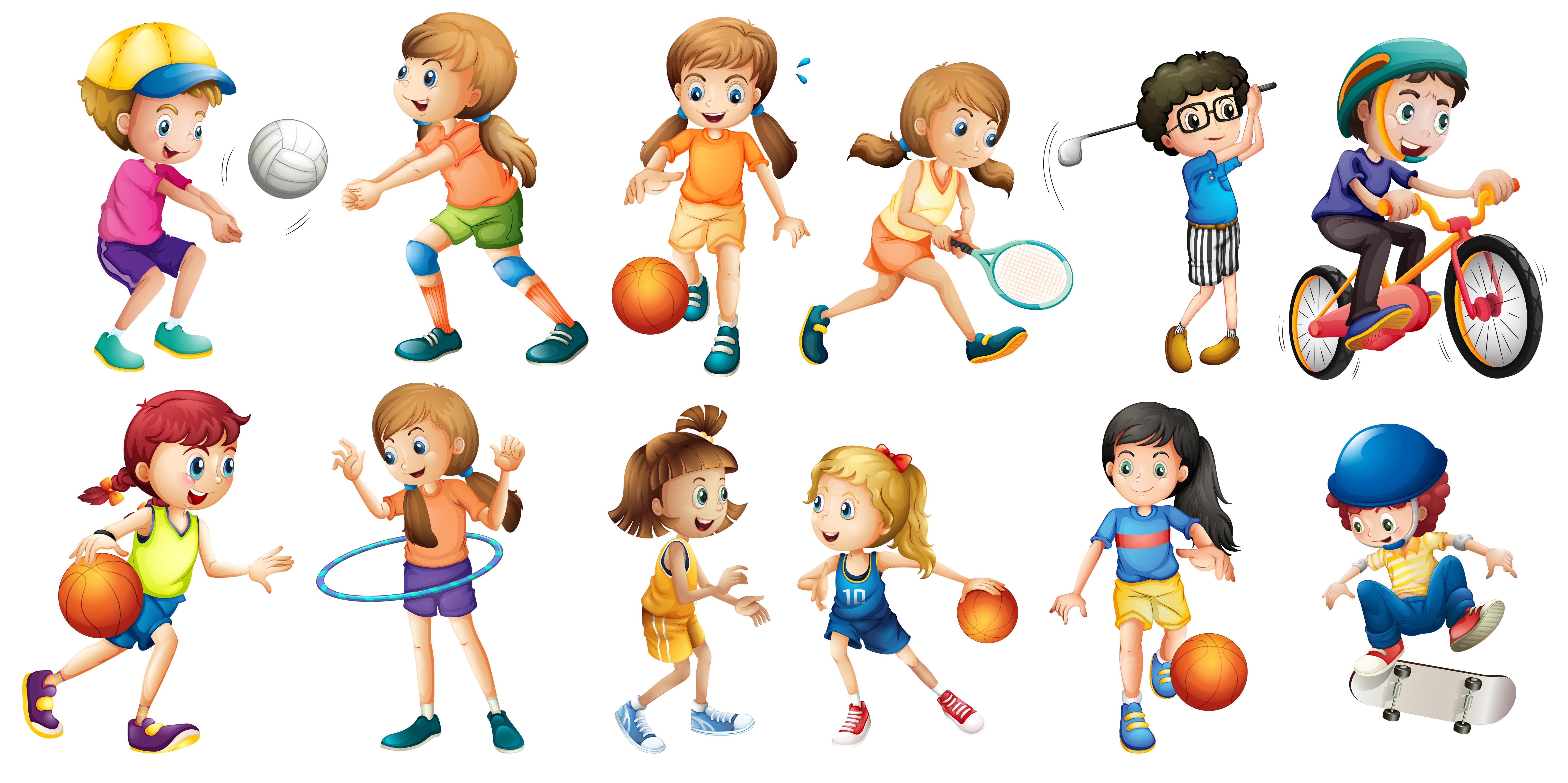 Влияние спорта на ребенка