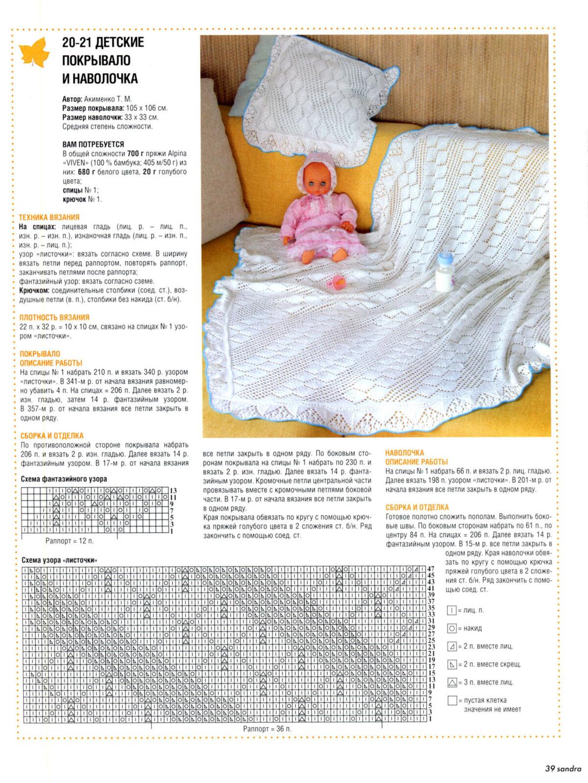 36 пледов для новорожденного связанных крючком со схемами и описанием