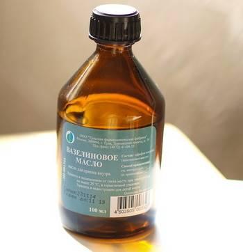 Вазелиновое масло для новорожденных инструкция по применению