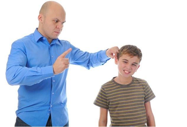 7 способов наказания для ребенка
