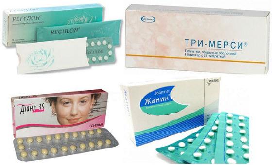 Прорывное кровотечение при приеме ок: причины, терапия. противозачаточные таблетки - какие лучше выбрать