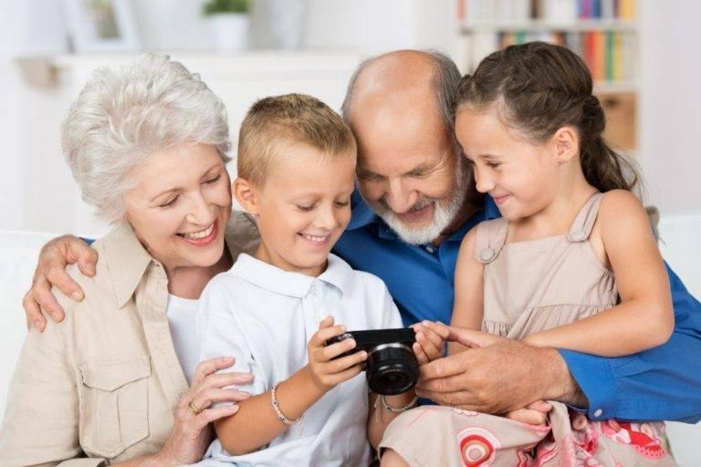 Влияние бабушек и дедушек на воспитание детей