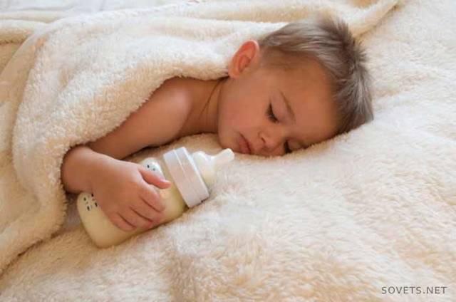 Ребенок спит только на руках