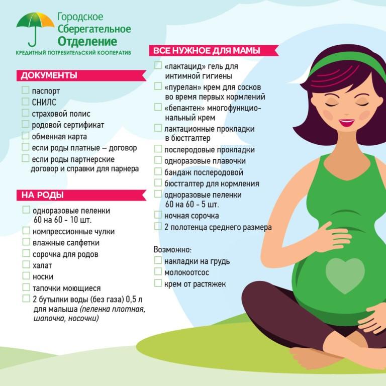 Подготовка к родам: все, что нужно знать беременным