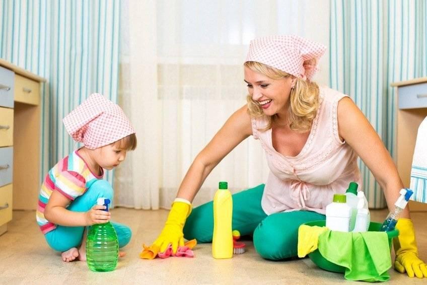 40 базовых вещей, которые должен уметь делать ребёнок по дому в возрасте от 2-ух до 13-ти лет
