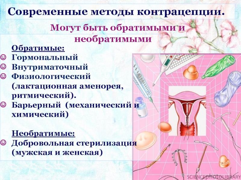 Лактационная аменорея как естественный метод контрацепции: преимущества и недостатки