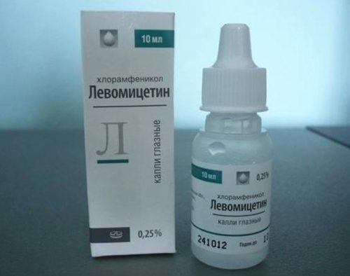 Левомицетин в каплях для новорожденных: лечение глаз и насморка