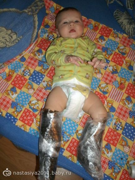 Процесс изготовления парафиновых сапожек для детей в домашних условиях