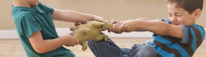 Ребёнок не хочет делиться игрушками: что делать родителям