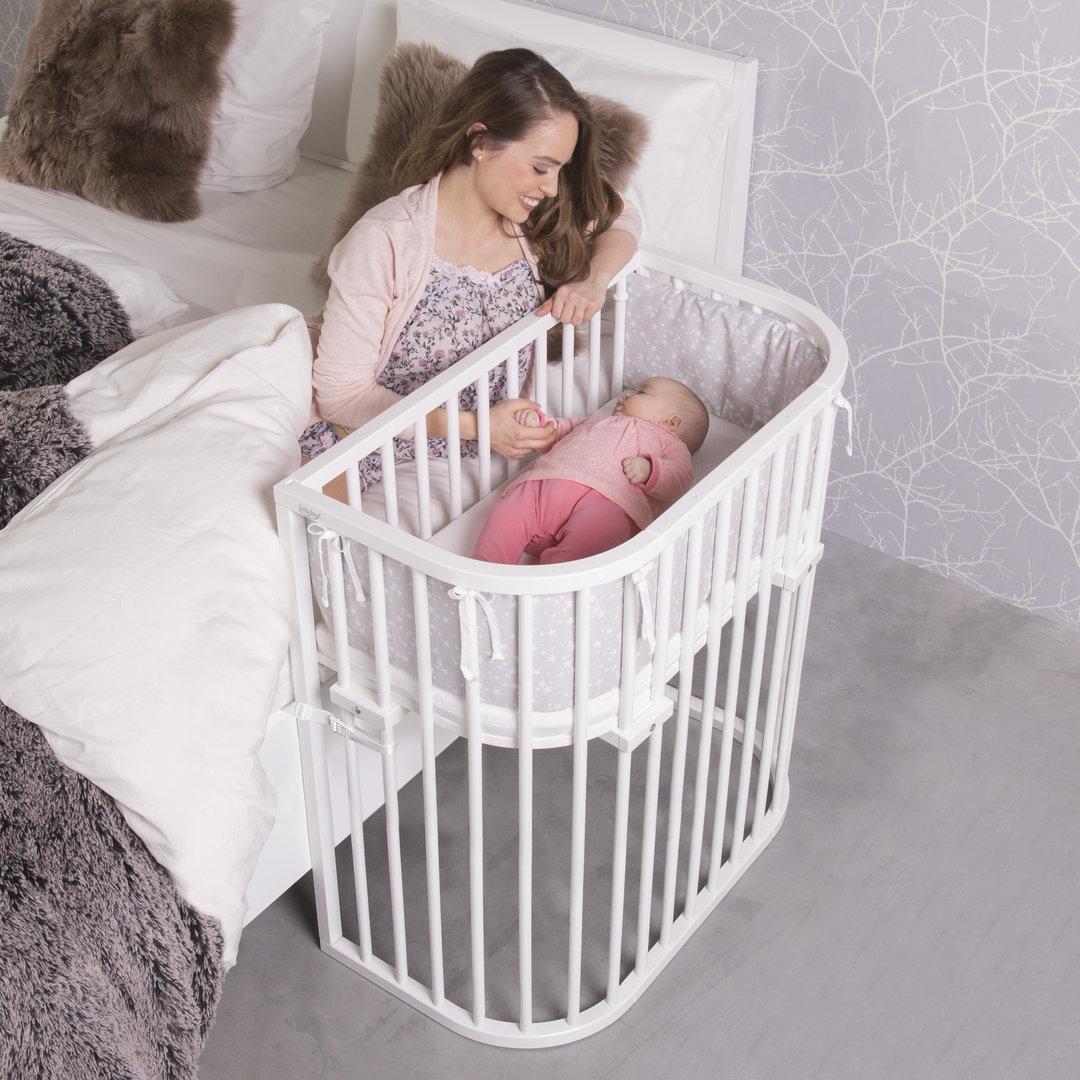 Приставная кроватка для новорожденных: виды и правила выбора   знать про все
