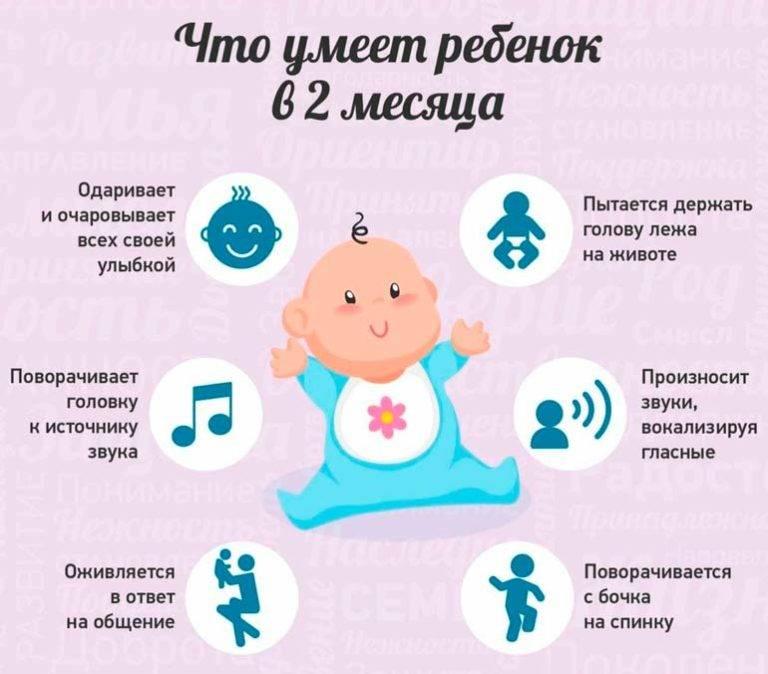 Развитие ребенка в первый месяц: навыки, умения, правильный уход