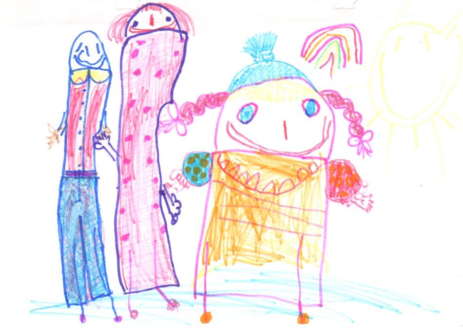 Детские рисунки: как говорить о них с ребенком. 3 шага