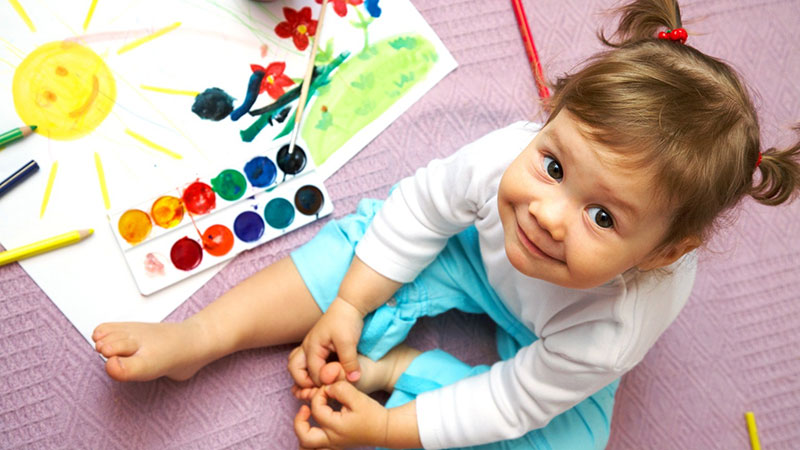 Как научить ребенка различать цвета? | учим цвета – жили-были