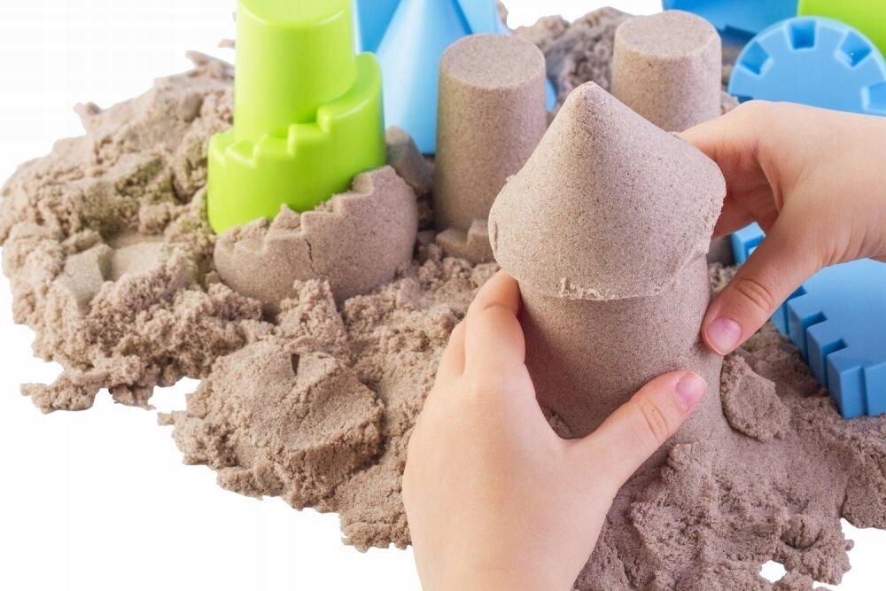 Кинетический песок своими руками – 5 пошаговых рецептов
