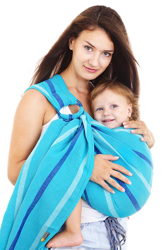 Как завязать слинг шарф для новорожденных своими руками, способы и меры предосторожности
