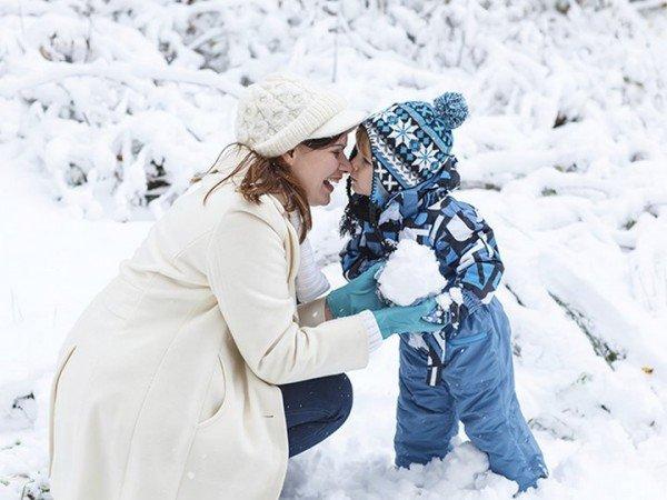 Medweb - шпаргалка для родителей: правила зимней прогулки c детьми