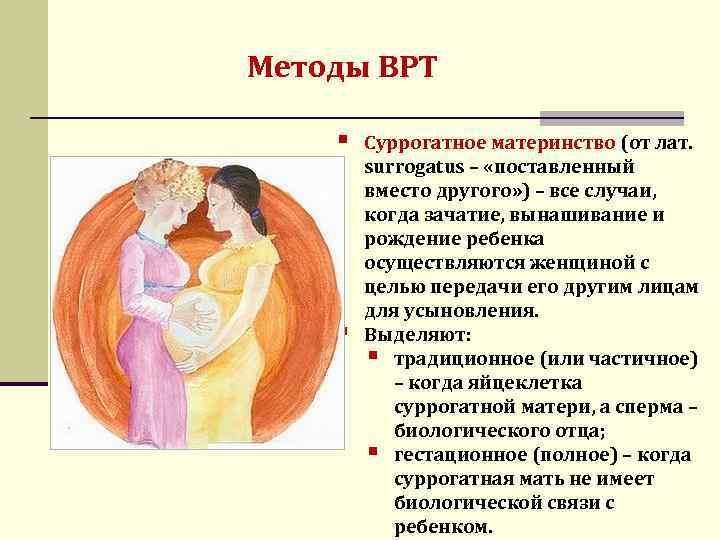 Программа суррогатного материнства: основные аспекты
