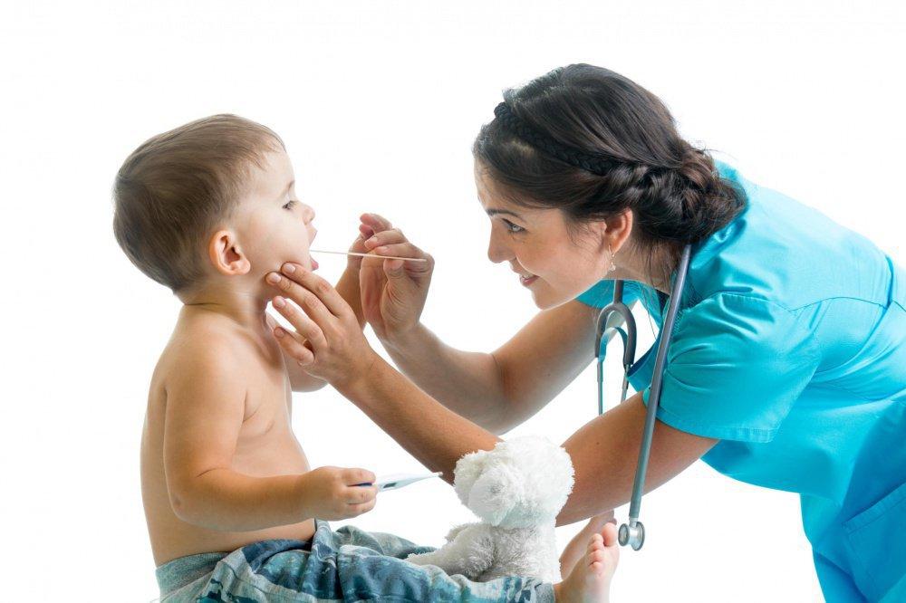 У ребенка болит шея сбоку