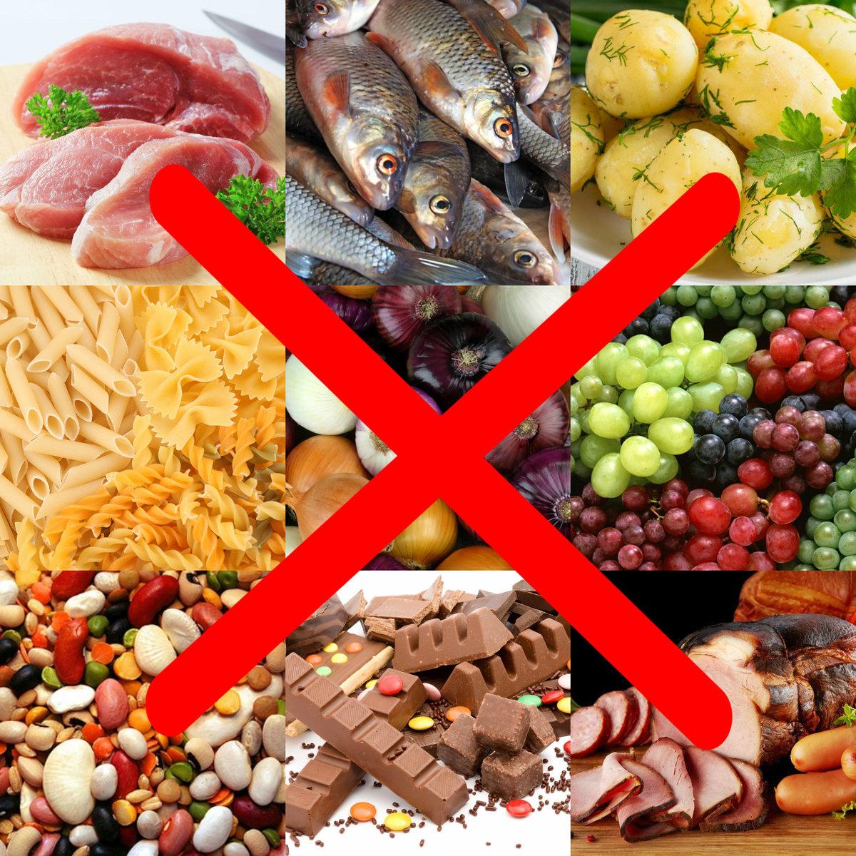 Диета при манту: запрещенные продукты и организация питания