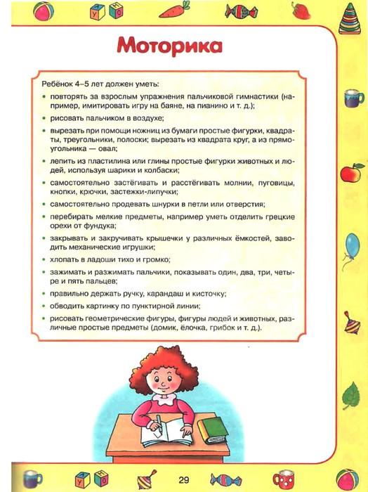 Развитие ребенка от 3,5 до 4 лет