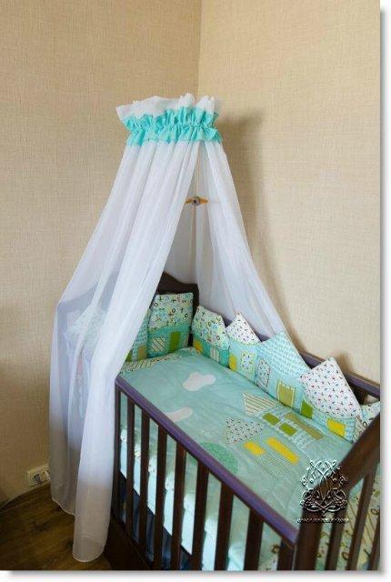 Как сшить балдахин на детскую кроватку: +75 фото и выкройки
