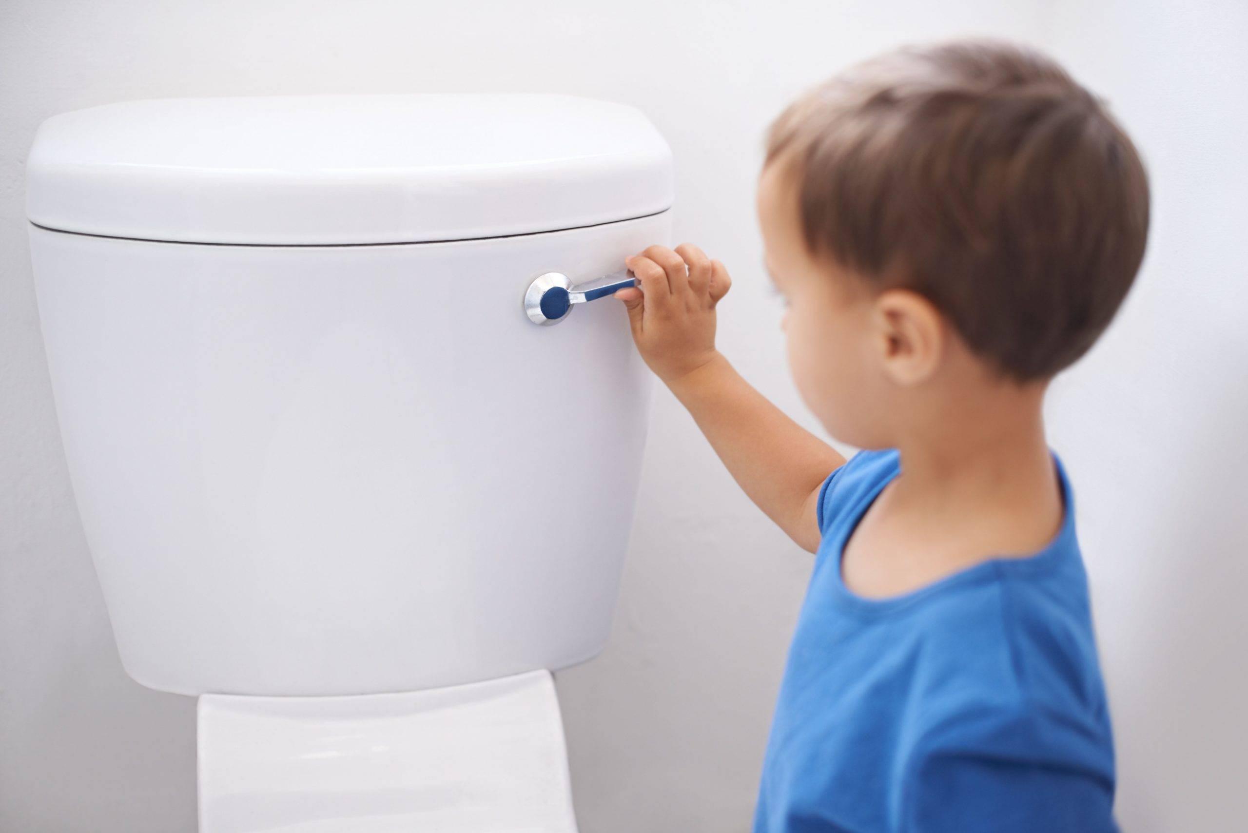 Ребенок боится ходить в туалет по большому