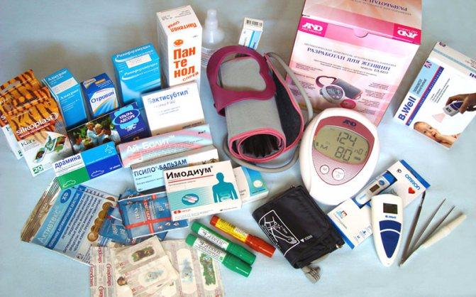 Нужное и важное в аптечке для новорожденного