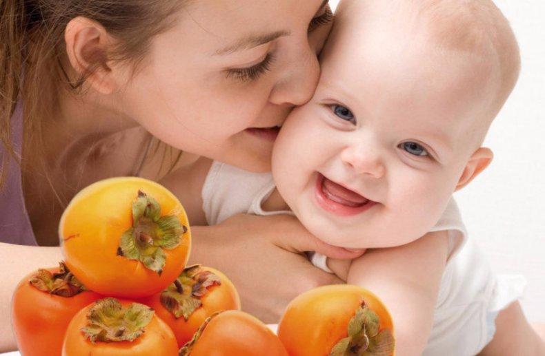 Можно ли кормящей маме есть хурму: особенности введения в рацион при грудном вскармливании